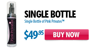 Single Bottle of Pink Privates - Intimate Area Whitening Cream